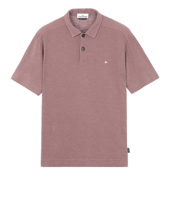 STONE ISLAND 23011 Polo shirt Man MAHOGANY BROWN
