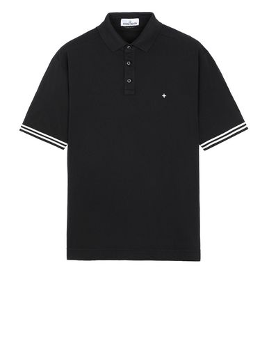 STONE ISLAND 20558 Polo shirt Man Black USD 125