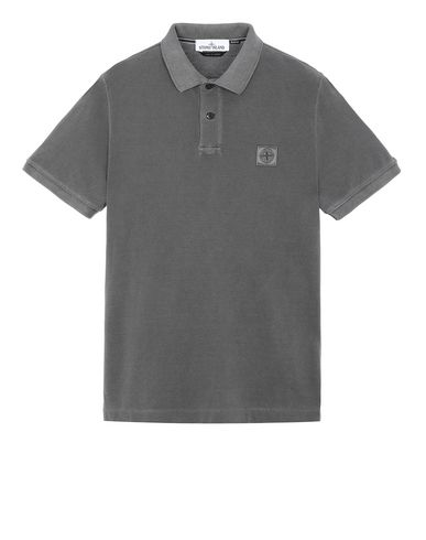 STONE ISLAND 22S67 Polo shirt Man Steel Gray USD 99
