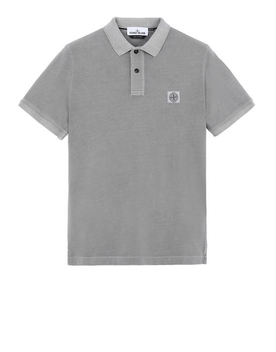 STONE ISLAND 22S67 Polo shirt Man Grey