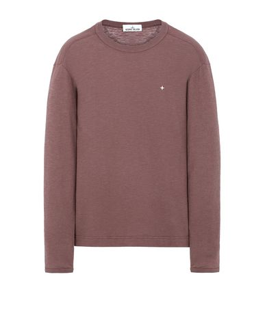 STONE ISLAND 23511 Long sleeve t-shirt Man MAHOGANY BROWN EUR 179