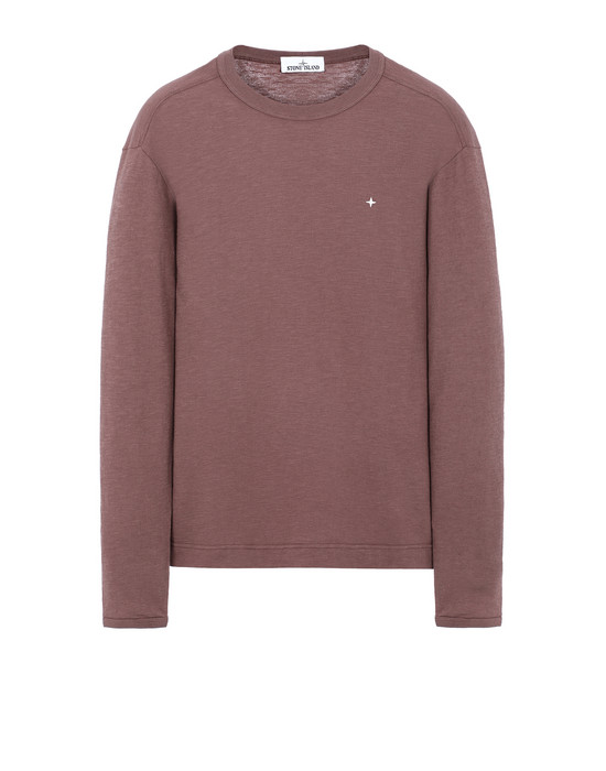 STONE ISLAND 23511 Long sleeve t-shirt Man MAHOGANY BROWN