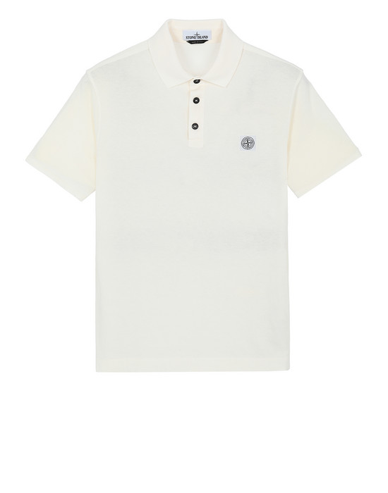 "Polo shirt 22257""FISSATO""DYE TREATMENT STONE ISLAND - 0"