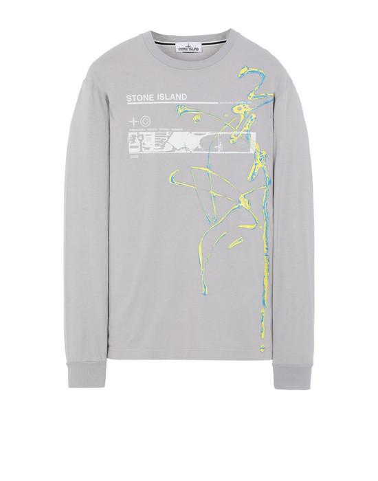 """Long sleeve t-shirt 2ML82""""ACQUADRONE THREE"""" STONE ISLAND - 0"""
