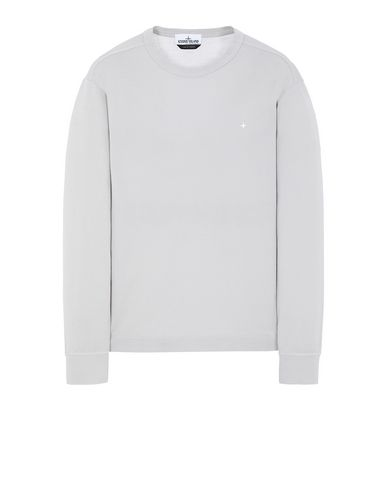 STONE ISLAND 24312 Long sleeve t-shirt Man Dust Gray EUR 164