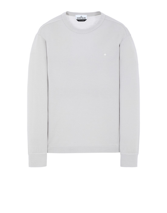 STONE ISLAND 24312 Long sleeve t-shirt Man Dust Grey