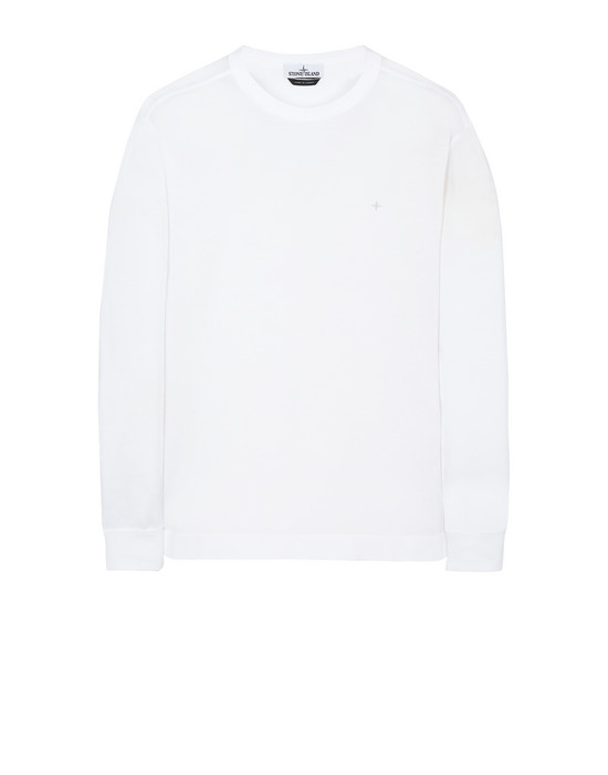 STONE ISLAND 24312 Long sleeve t-shirt Man White