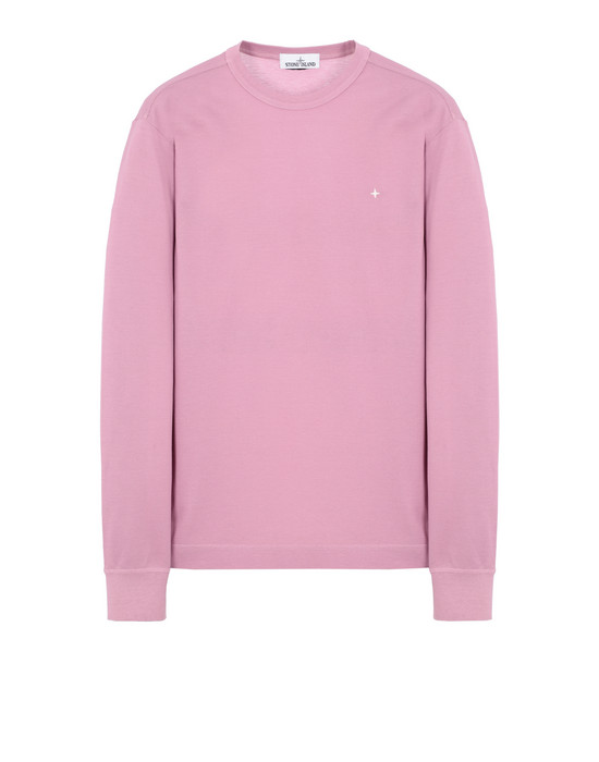 STONE ISLAND 24312 Long sleeve t-shirt Man Pink Quartz