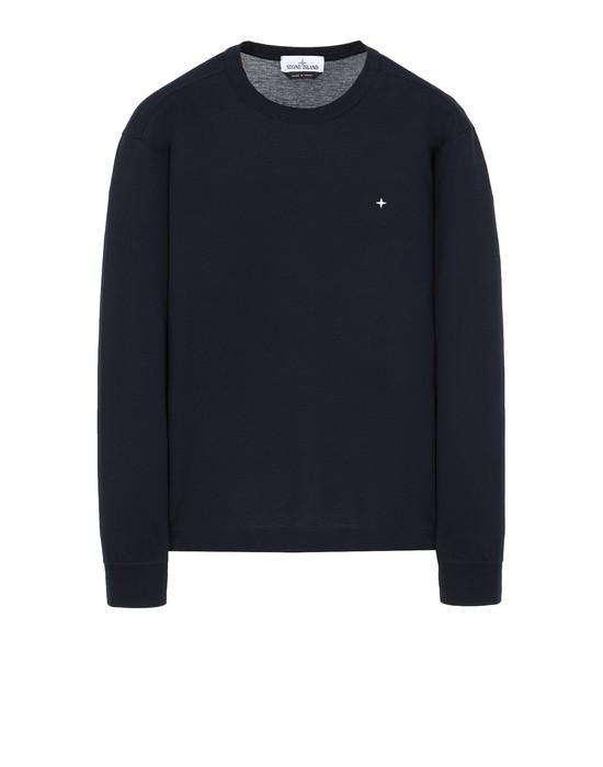 STONE ISLAND 24312 긴소매 티셔츠 남성 블루