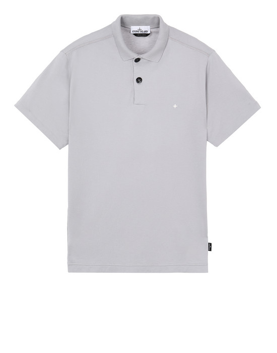 STONE ISLAND 23113 Polo shirt Man Dust Gray