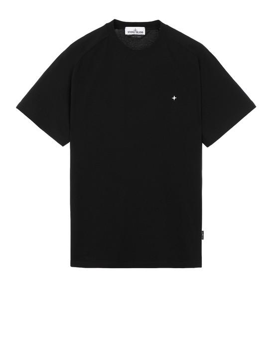 STONE ISLAND 21717 T シャツ メンズ ブラック