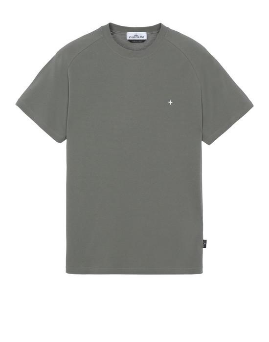 STONE ISLAND 21717 Short sleeve t-shirt Man Olive Green