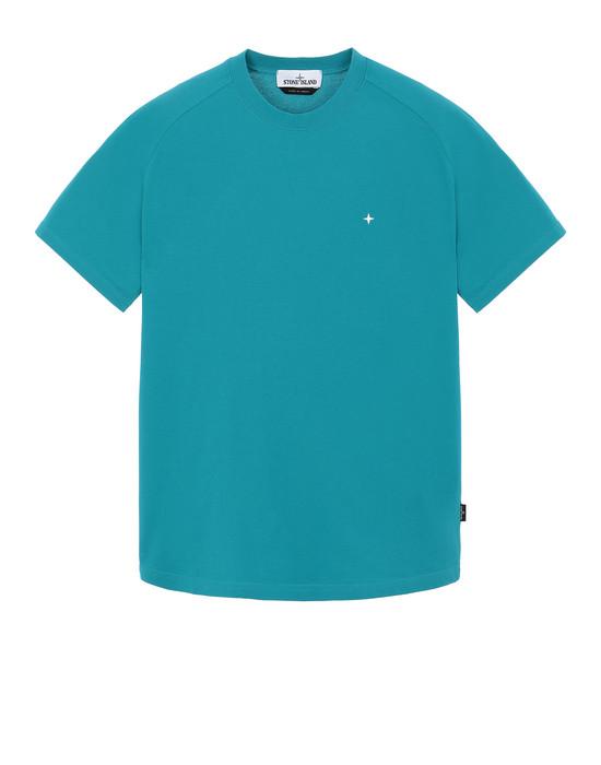 STONE ISLAND 21717 Short sleeve t-shirt Man Turquoise