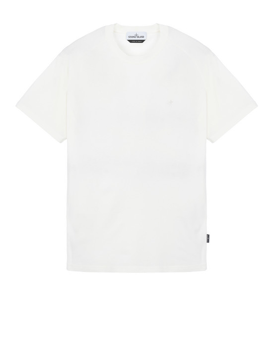 STONE ISLAND 21717 Short sleeve t-shirt Man Ivory