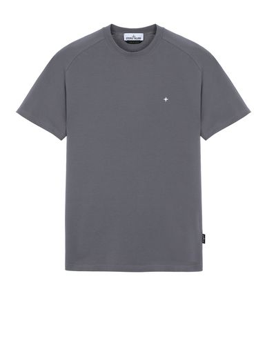 STONE ISLAND 21717 Short sleeve t-shirt Man Blue Grey USD 82