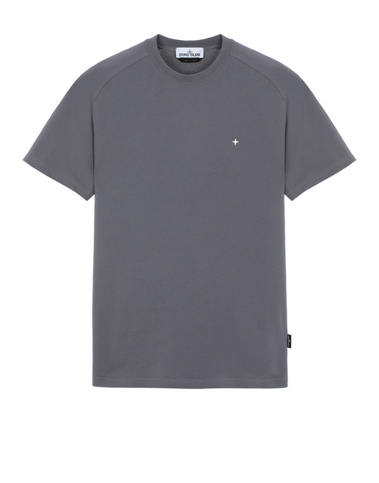 STONE ISLAND 21717 Short sleeve t-shirt Man Blue Grey