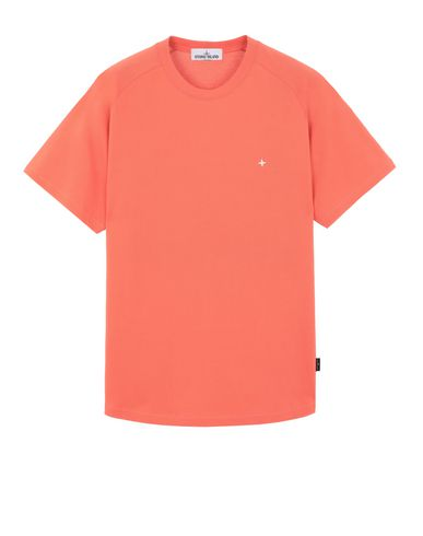 STONE ISLAND 21717 Short sleeve t-shirt Man Lobster Red EUR 113