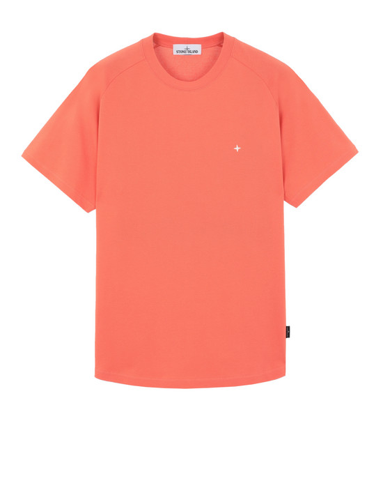 STONE ISLAND 21717 Short sleeve t-shirt Man Lobster Red