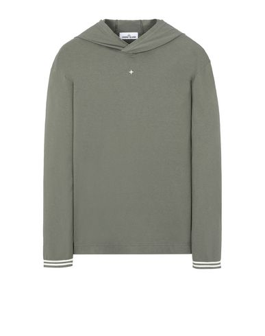 STONE ISLAND 21558 Long sleeve t-shirt Man Olive Green EUR 156