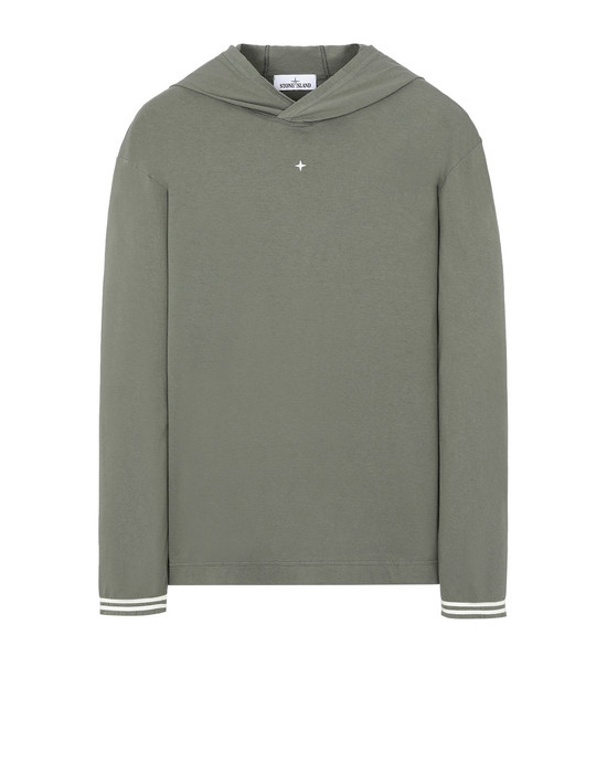 STONE ISLAND 21558 Long sleeve t-shirt Man Olive Green