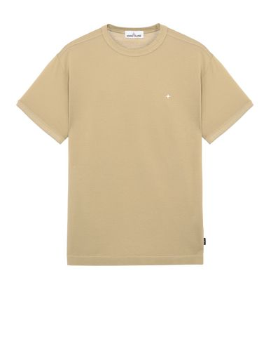 STONE ISLAND 23612 Short sleeve t-shirt Man Dark Beige EUR 110