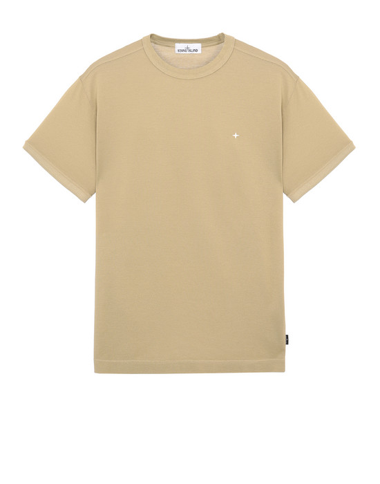 STONE ISLAND 23612 Short sleeve t-shirt Man Dark Beige