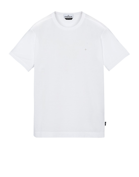 STONE ISLAND 23612 Short sleeve t-shirt Man White