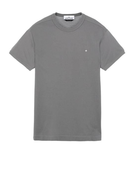 STONE ISLAND 23612 Short sleeve t-shirt Man Blue Grey