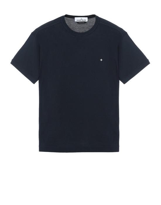 STONE ISLAND 23612 T-Shirt Herr Blau