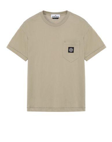 STONE ISLAND 20113 Short sleeve t-shirt Man Dark Beige EUR 110