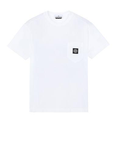 STONE ISLAND 20113 Short sleeve t-shirt Man White USD 99