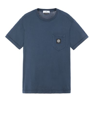 STONE ISLAND 20113 Short sleeve t-shirt Man Marine Blue EUR 89