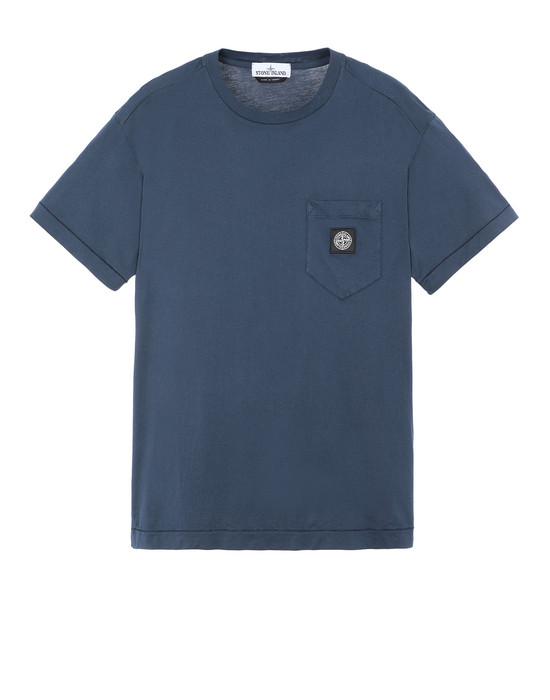 STONE ISLAND 20113 Short sleeve t-shirt Man Marine Blue