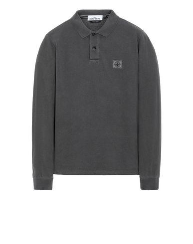 STONE ISLAND 2SS67 PIGMENT DYE TREATMENT Polo shirt Man Steel Gray USD 123