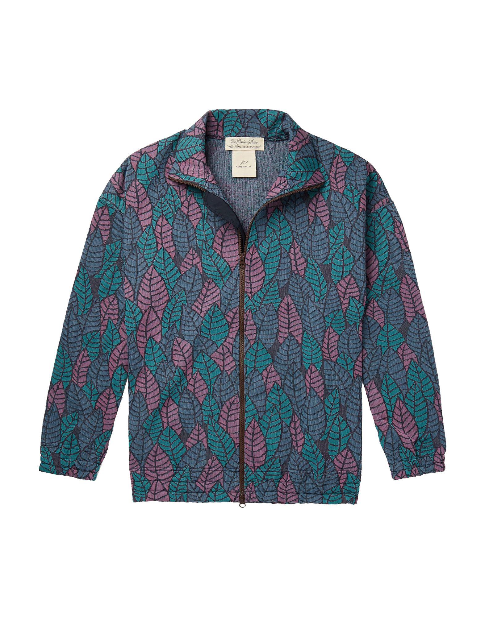 《セール開催中》REMI RELIEF メンズ スウェットシャツ ブルーグレー S ポリエステル 100% / ナイロン