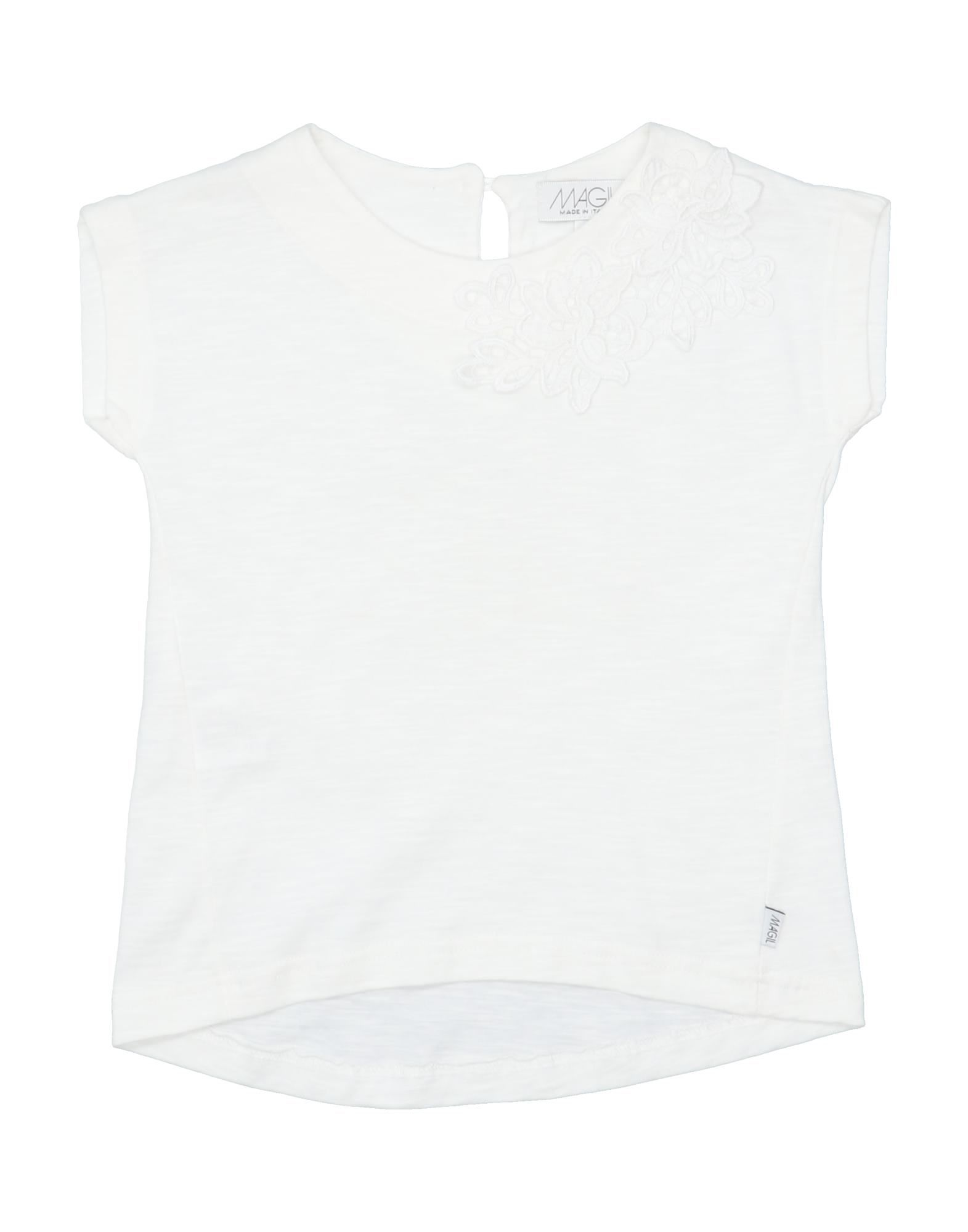 Magil Kids' T-shirts In White