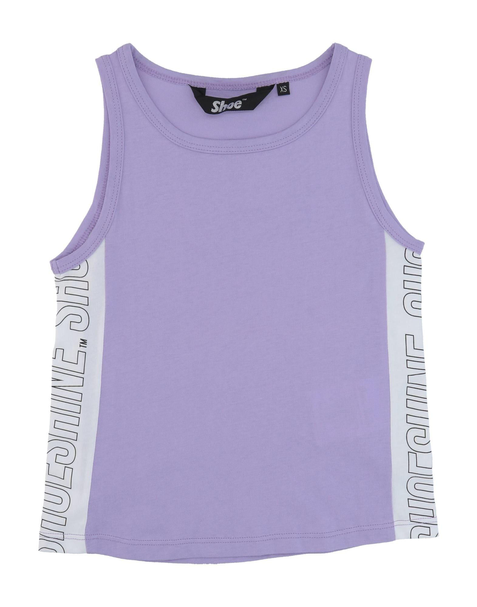 Shoeshine Kids' T-shirts In Purple