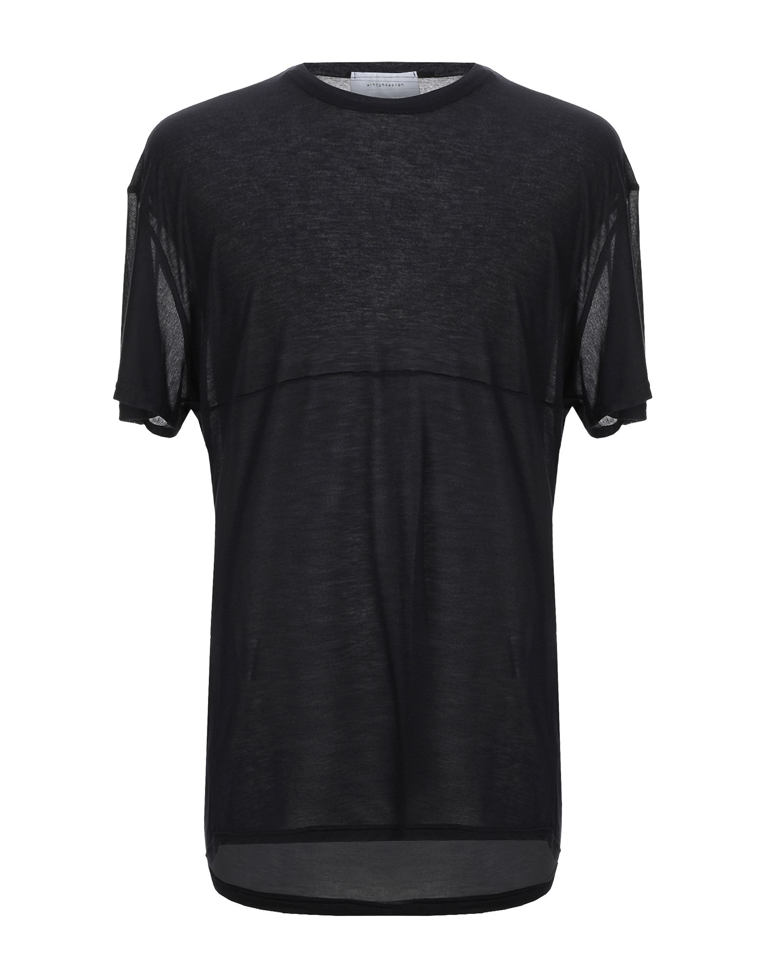 《セール開催中》ART 259 DESIGN by ALBERTO AFFINITO メンズ T シャツ ブラック L レーヨン 100%