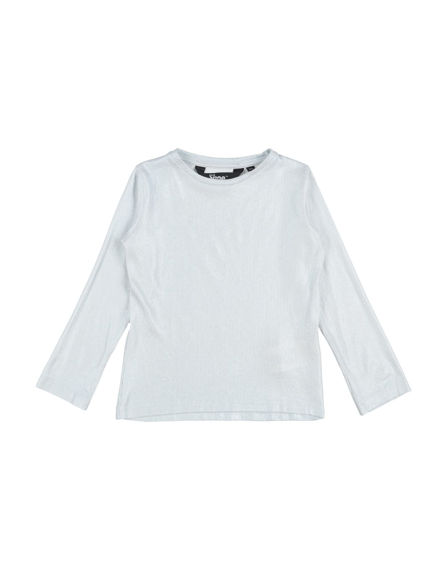 Shoeshine Kids' T-shirts In Light Grey