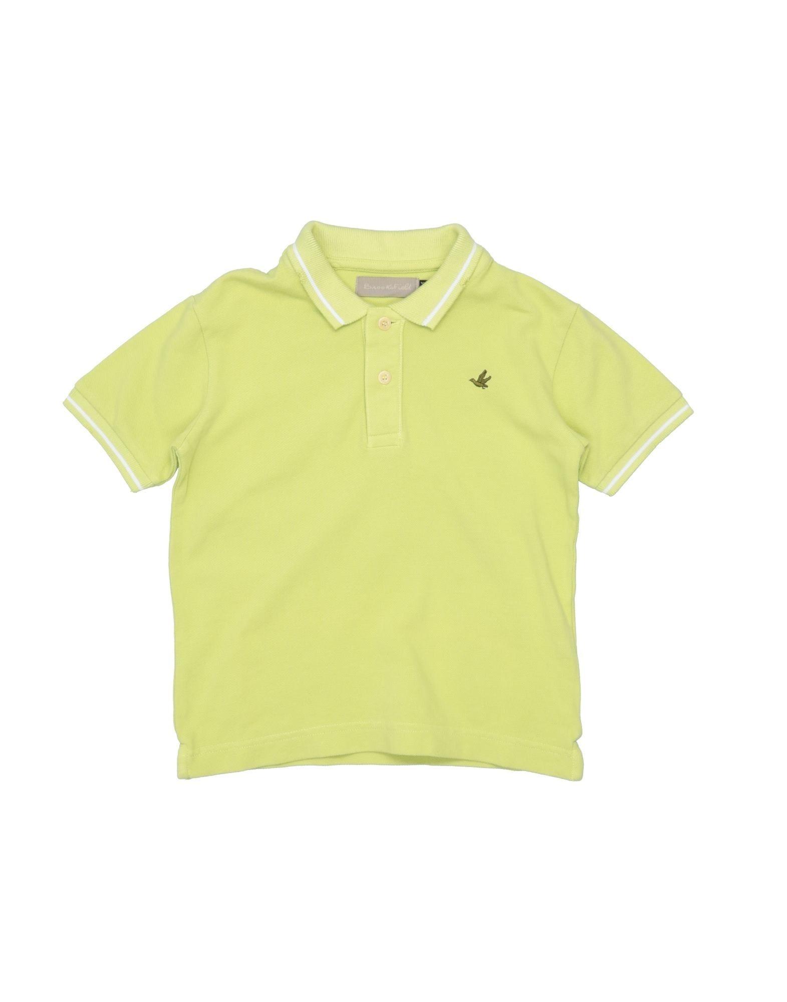 《セール開催中》BROOKSFIELD ボーイズ 3-8 歳 ポロシャツ ビタミングリーン 3 コットン 100%
