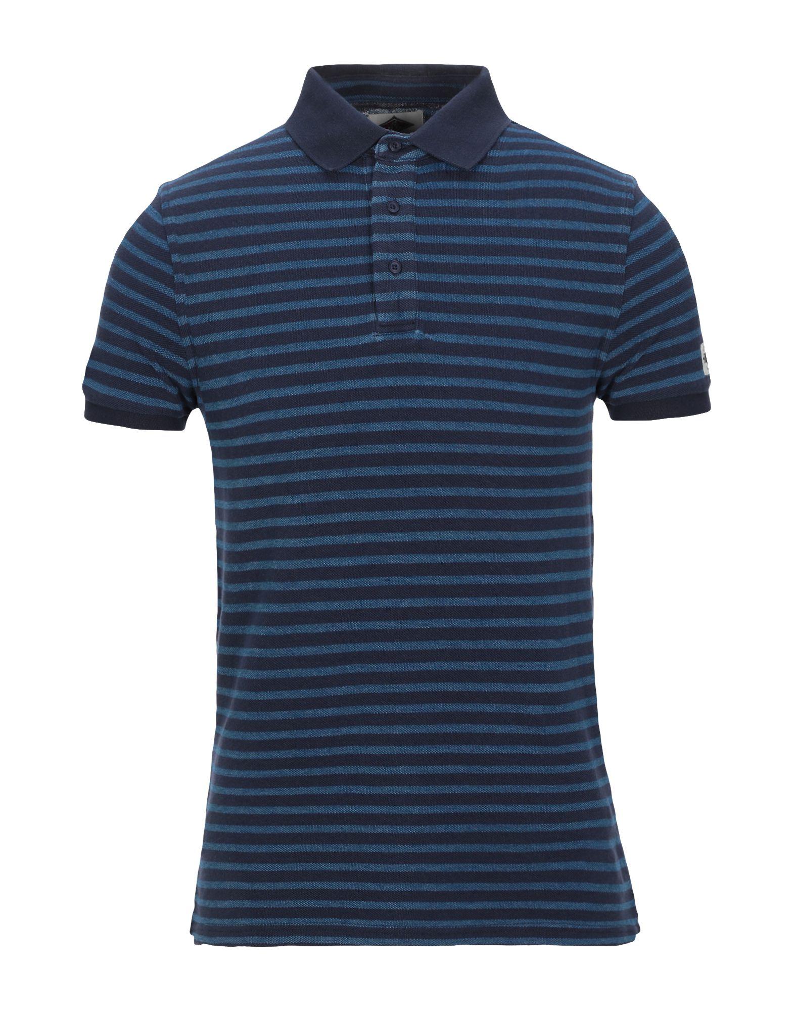 《セール開催中》BEAR メンズ ポロシャツ ダークブルー S コットン 100%