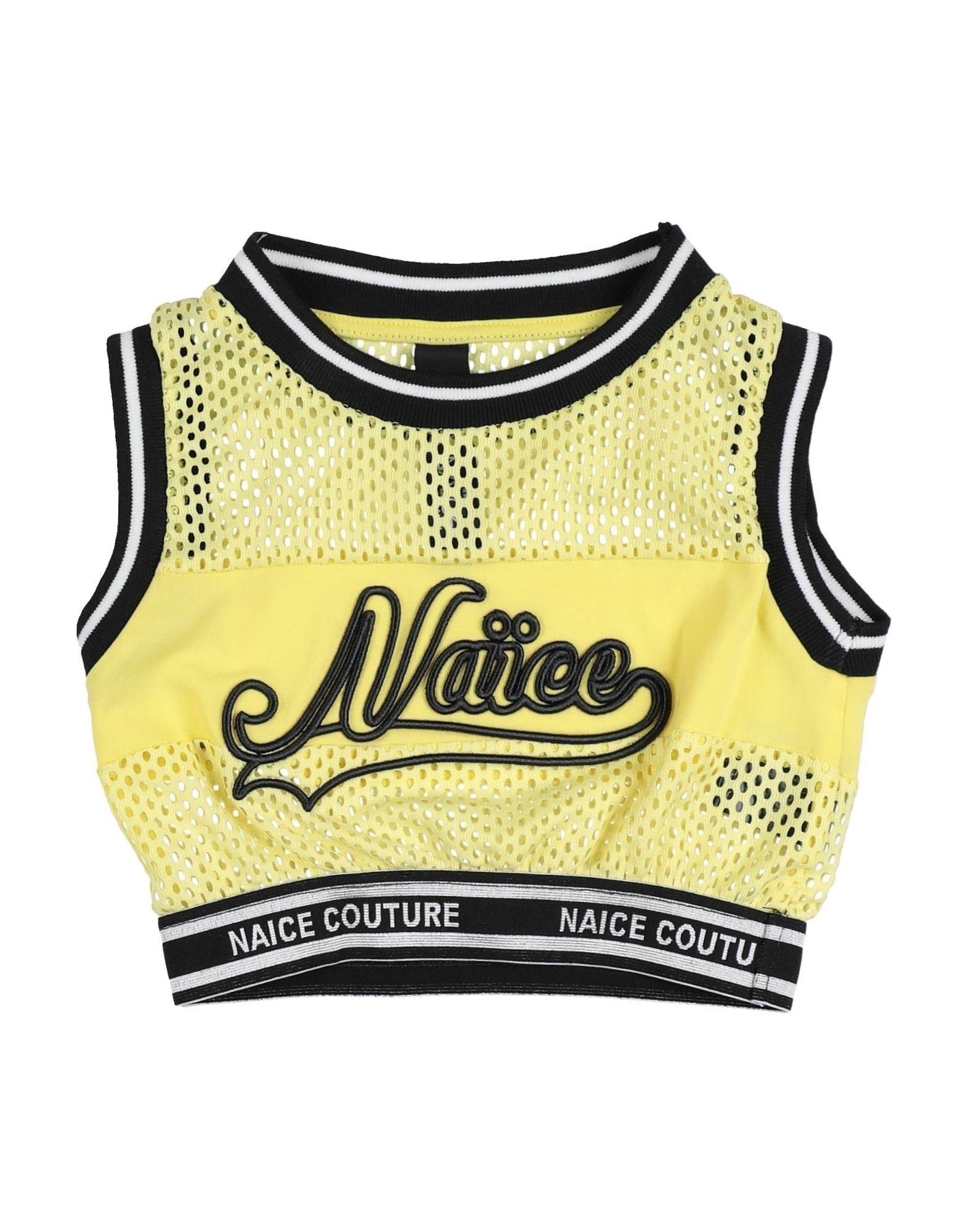 Naïce Kids' T-shirts In Yellow