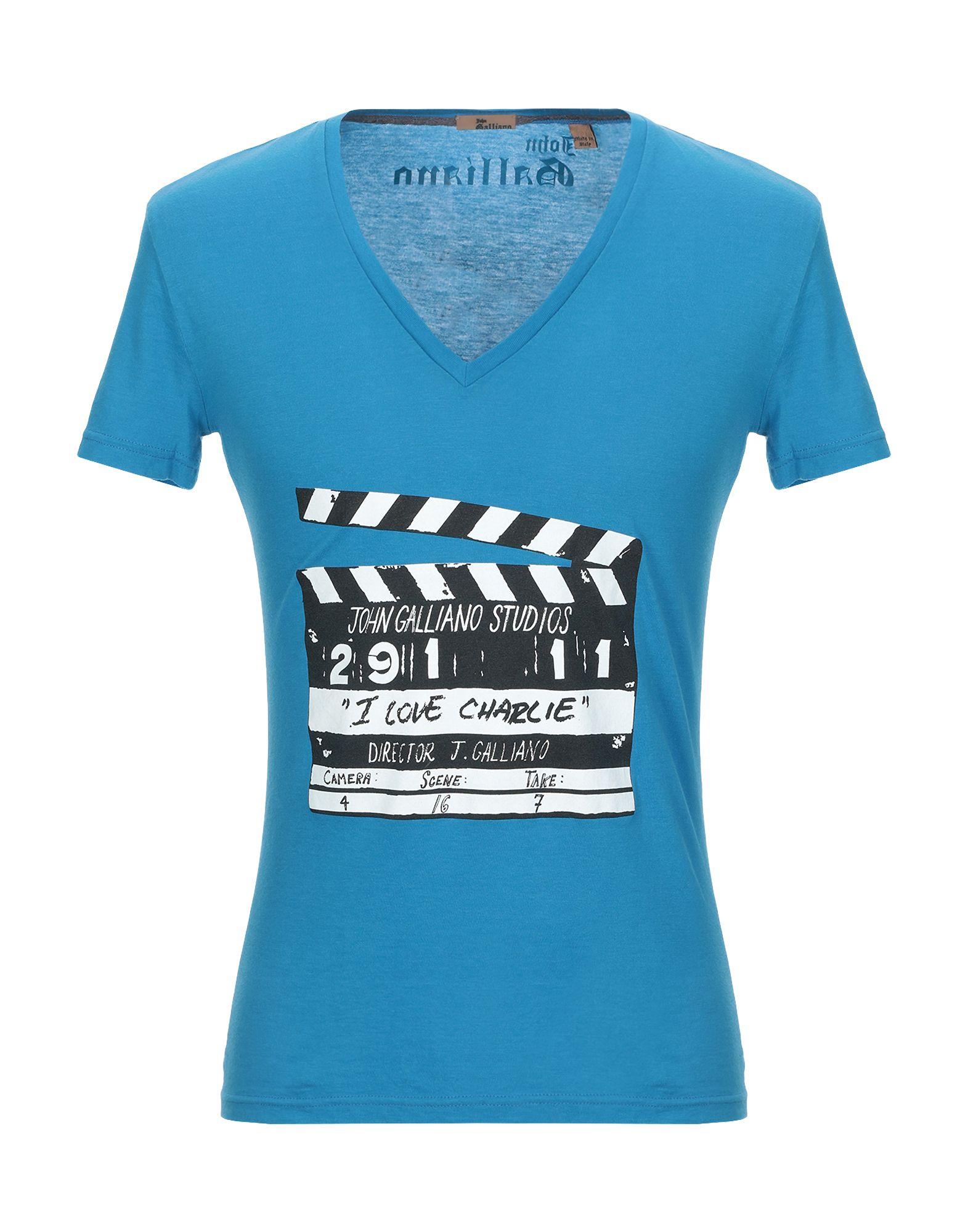 JOHN GALLIANO Футболка футболка john galliano размер 140 синий