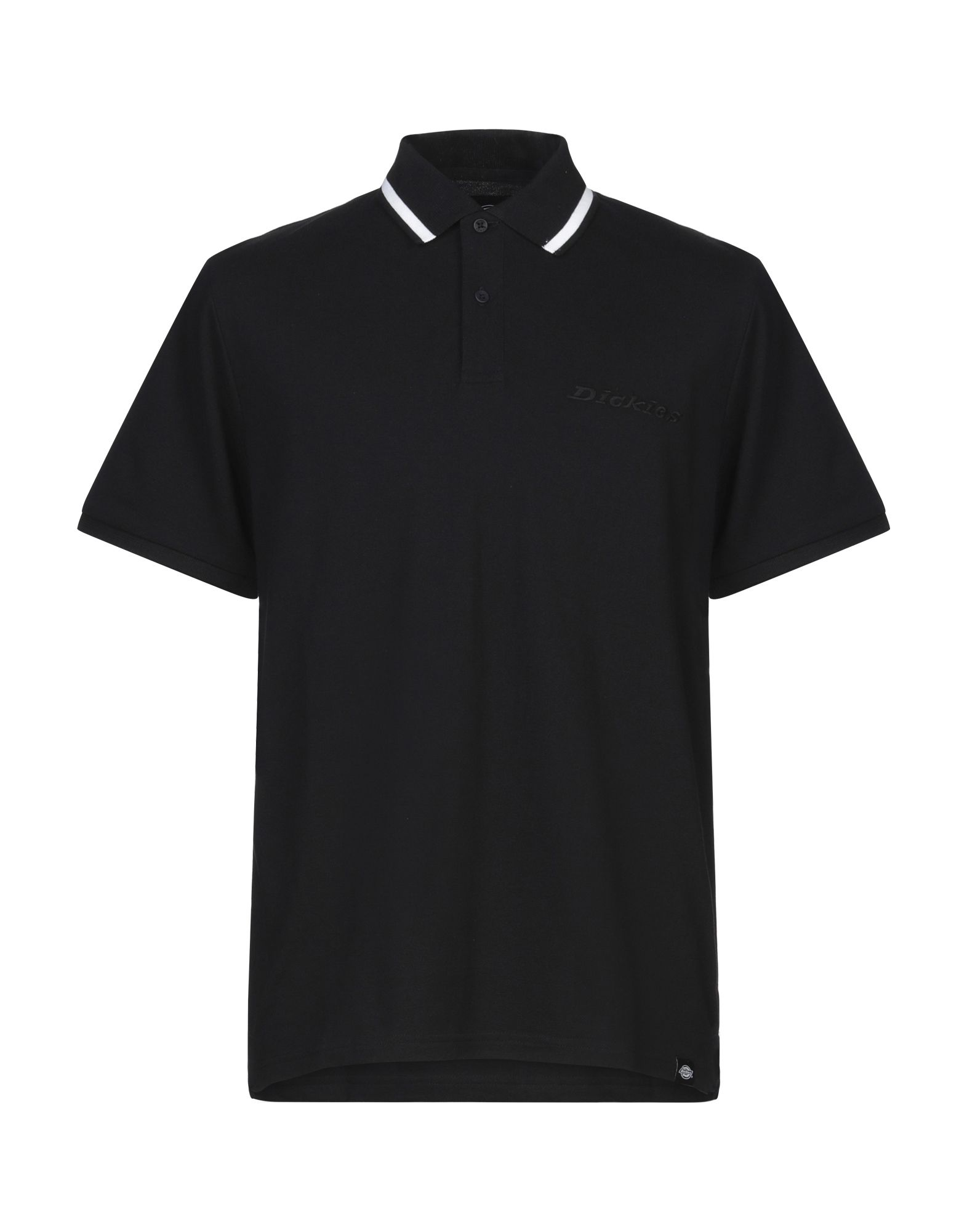 《セール開催中》DICKIES メンズ ポロシャツ ブラック L コットン 100%