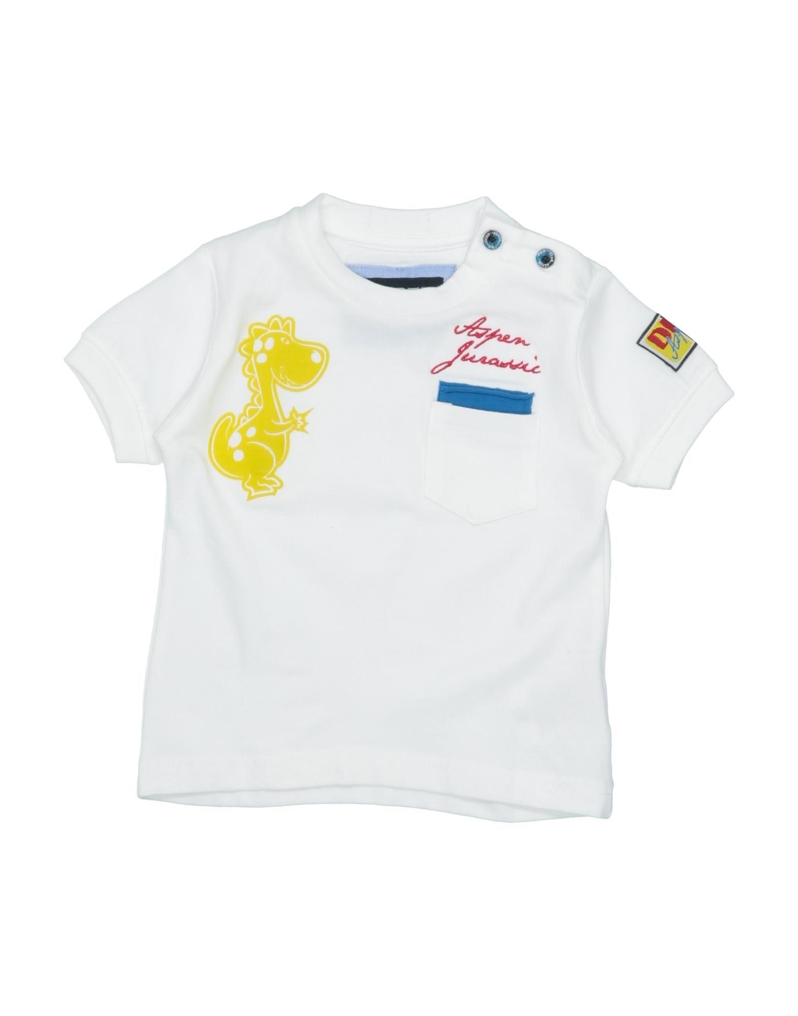 Aspen Polo Club Kids' T-shirts In White