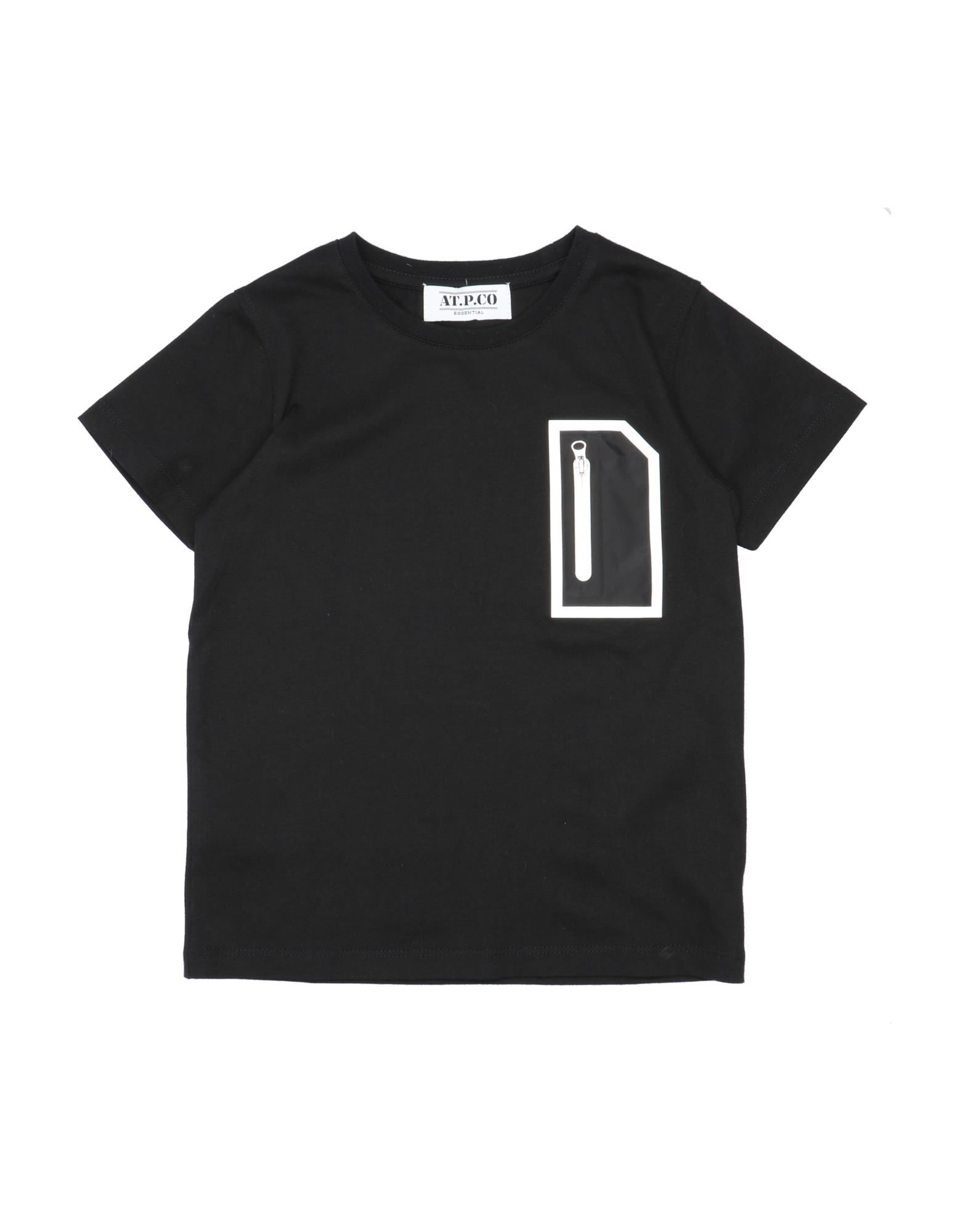 At.p.co Kids' T-shirts In Black