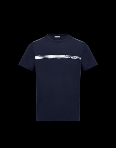 T-SHIRT Dark blue New in Man