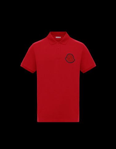 POLO Red Category Polo shirts Man