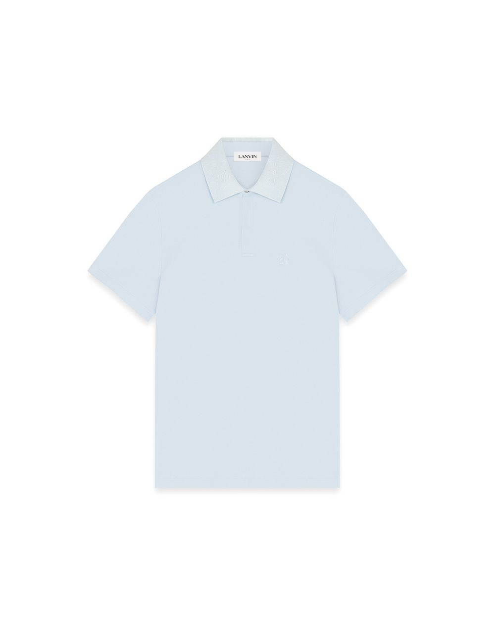 GROSGRAIN COLLAR POLO - Lanvin