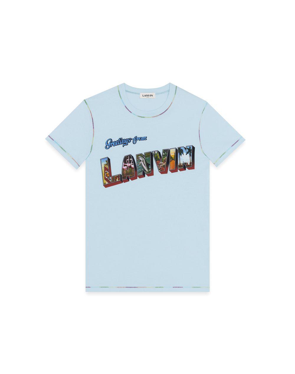 LANVIN PRINT T-SHIRT - Lanvin